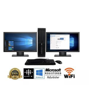 Desktop HP Computer 2 LCD monitors NEW in BOX for Sale in Chula Vista, CA