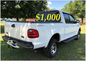 ✅$1,OOO For sale URGENT 2002 Ford F150 Clean title. Everything works well inside and out ,Engine V8, Runs And Drives Great With No Issues! ✅ for Sale in Arlington, VA