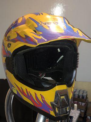 Dirt bike helmet for Sale in Houghton Lake, MI