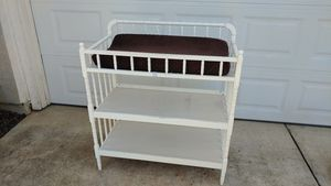 Changing table with pad and cover for Sale in Elk Grove, CA