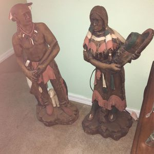 BEAUTIFUL HAND CRAFTED INDIAN COUPLE MADE IN MEXICO for Sale in Kissimmee, FL