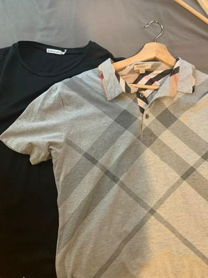 Monclear and burberry shirt small both medium for Sale in Philadelphia, PA
