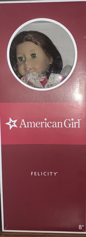 """American Girl Doll 18"""" Felicity, 2008. Comes with 2 dresses and shoes for Sale in San Diego, CA"""