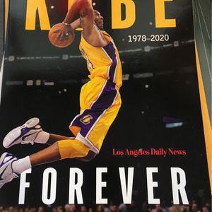 Kobe Black Mamba Conmemorative Book for Sale in Orange, CA