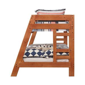 Twin over full bunk bed. Solid pine and sturdy. Taken apart and ready to be picked up. No mattresses. Can possibly deliver to your driveway for e for Sale in Puyallup, WA