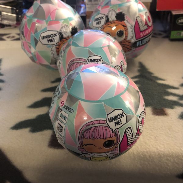 Asking $25 for four balls LOL dolls start your shopping here