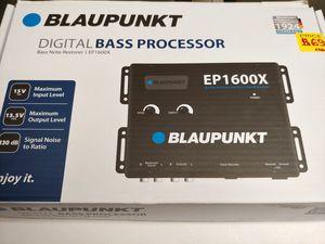 Car audio system : Blaupunkt digital bass processor bass note restorer 15v rms max input 13.5v max output 130db signal brand new for Sale in Bell Gardens, CA