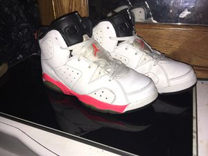 "Jordan retro 6 ""White Inferred"" Size 3Y for Sale in Baltimore, MD"