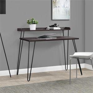 Ameriwood Home Haven Retro Computer Desk with Riser /Espresso for Sale in Alexandria, VA