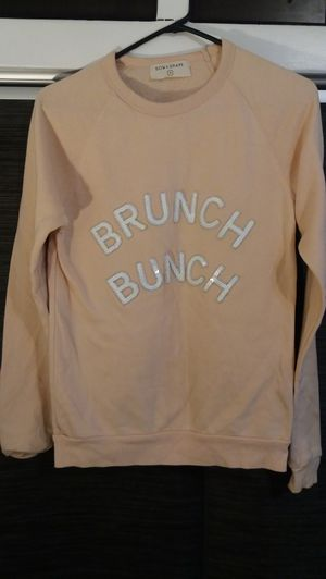 FREE Bow & Drape peach sweater for Sale in Los Angeles, CA
