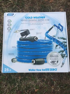 25ft heated water hose for camping for Sale in Millsboro, DE