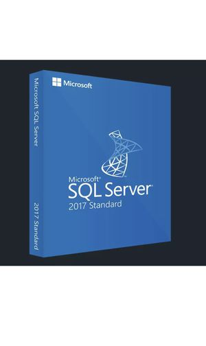 SQL Server 2017 Standard Lifetime License Key Fast Delivery ENGLISH & SPANISH! for Sale in Beverly Hills, CA