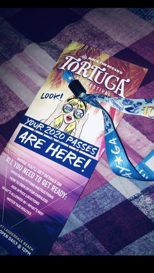 Tortuga armband whole weekend October 2,3,4 for Sale in Spring Hill, FL