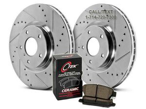 NEW DRILLED & SLOTTED ROTORS + BRAKE PADS FOR ALL YEARS, MAKES, & MODELS for Sale in Westminster, CA