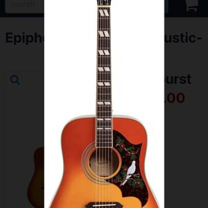 Epiphone Dove Pro - Mint w/ HSC for Sale in Snohomish, WA