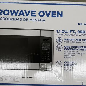 GE. Microwave Countertop Stainless Steel for Sale in Bethesda, MD