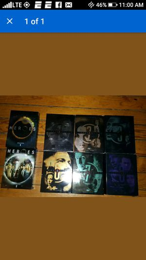 Xfile season 1,2,3,4,7,8 Heroes Season 1,2 for Sale in Hartford, CT