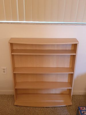 Birch book shelf for Sale in Miami, FL