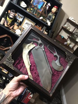 Bone saw shadow box for Sale in Los Angeles, CA