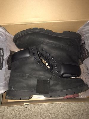 Timberland pro work boots size (9.5) so can fit size 10-11 for Sale in Salida, CA
