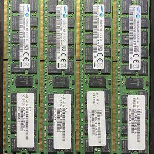 Samsung 64GB (4 X16) 16GB 2Rx4 PC3-14900R-13-13-E2-D4 M393B2G70EB0 for Sale in Long Beach, CA
