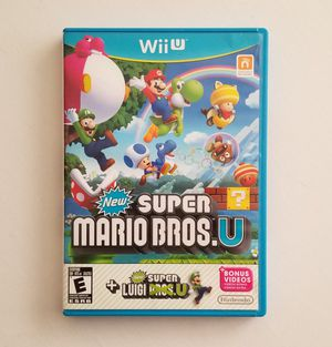 Super Mario Bros U + Luigi U for Sale in Las Vegas, NV