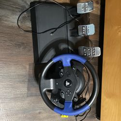 Ps4 Steering Wheel With Pedals for Sale in San Marcos,  CA