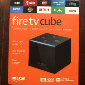 Fire TV Cube for Sale in Wake Forest, NC