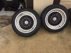 """pair of universal 4 lug rims 16"""" for Sale in Kissimmee, FL"""