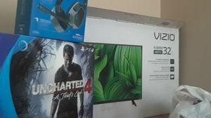 Ps4 And 32 inch vizio TV for Sale in Providence, RI