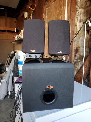 Klipsch THX Computer Speakers & Subwoofer for Sale in Bellflower, CA