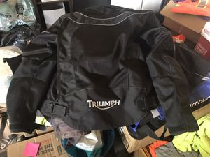 Triumph motorcycle jacket for Sale in Mesa, AZ