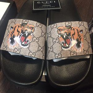Gucci slides for Sale in Dallas, TX