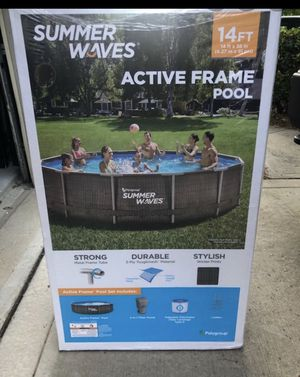 Brand new 14ft swimming pool & cover for Sale in Fontana, CA