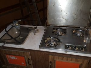 Coleman camper sink and stove for Sale in Colorado Springs, CO
