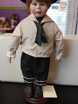 """Vintage Lenox Ellis Island Series Doll Collection """"Colin"""" for Sale in Troutdale,  OR"""