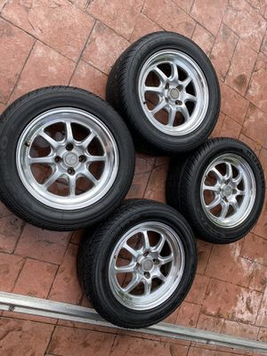 Enkei J-Speeds rims 15x8+25mm for Sale in Miami, FL