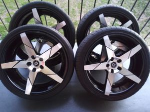 VENDO RINES MARCA LEXANI ZAIZ 20. 5X114.3. ESTSN SEMI NUEVOS for Sale in UNIVERSITY PA, MD