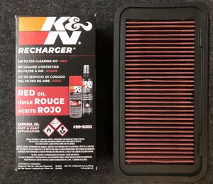 High performance Air Filter & KN recharger for Sale in Arcadia, CA