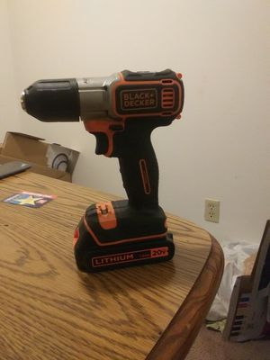 Black and decker drill for Sale in Madison, WI