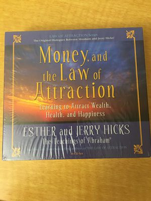 Money, and the Law of Attraction CD set for Sale in Dearborn, MI