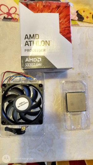 AMD Athlon x4 950 quad-core CPU AM4 socket for Sale in Hialeah, FL