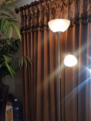 Floor lamp with reading light. for Sale in Pico Rivera, CA