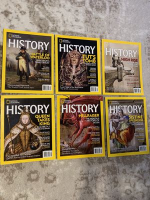 2018 HISTORY National Geographic Complete (6) for Sale in Fresno, CA