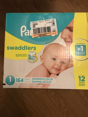 PAMPERS SIZE 1 for Sale in Rancho Cucamonga, CA