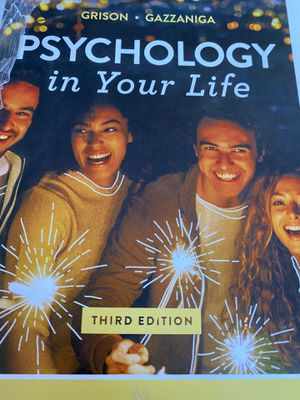 3rd edition psychology book NEW original price $110 for Sale in Raleigh, NC
