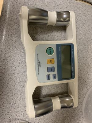 OMRON BODY LOGIC Body Fat Analyzer Model HBF-301BL Portable Handheld BMI Health for Sale in Portland, OR