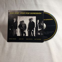 Iggy Pop Post Pop Depression 2016 CD for Sale in Long Beach,  CA