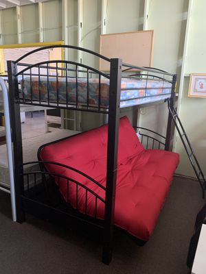 Twin /futon with mattress and futon pad included everything new. We offer easy finance not credit check for Sale in Las Vegas, NV