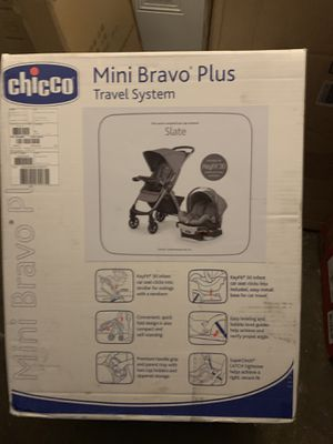 Chicco bravo plus travel system for Sale in Cleveland, OH